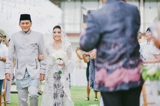 Ayu Hastari & Ryoichi Hutomo Wedding Day by Thepotomoto Photography - 012