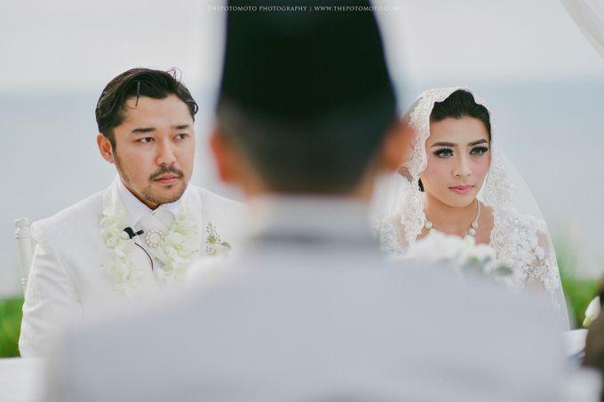 Ayu Hastari & Ryoichi Hutomo Wedding Day by Thepotomoto Photography - 023