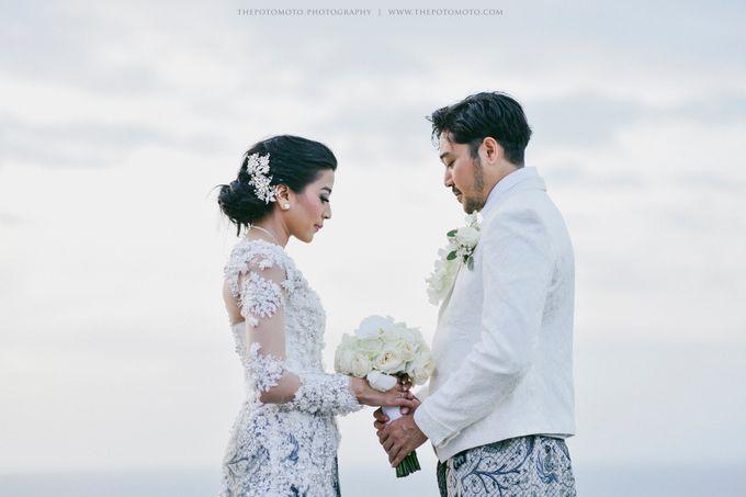 Ayu Hastari & Ryoichi Hutomo Wedding Day by Thepotomoto Photography - 028