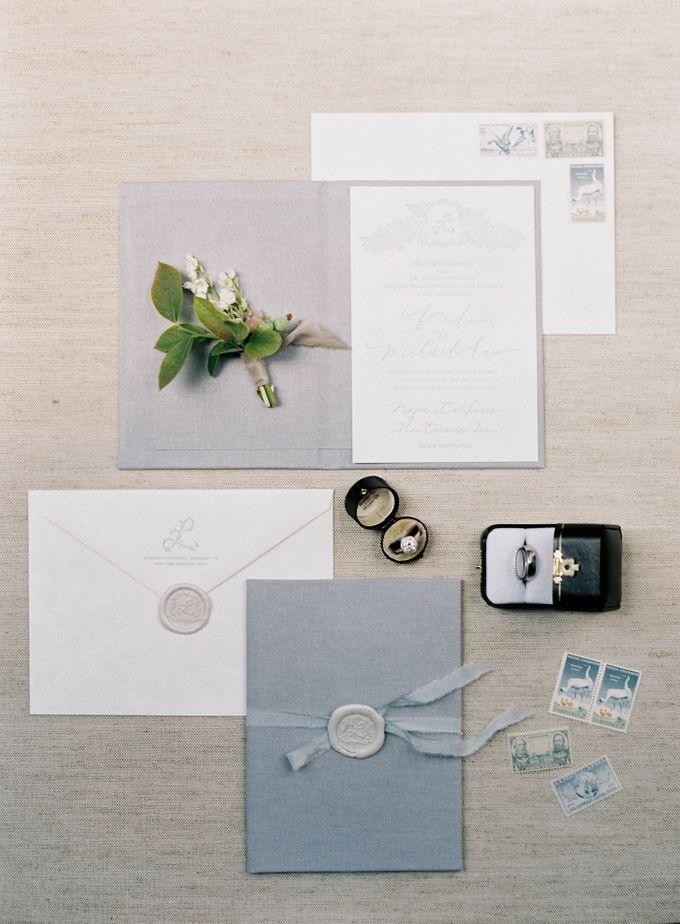 Blue & White Garden Wedding at Carneros Inn by Jen Huang Photo - 003