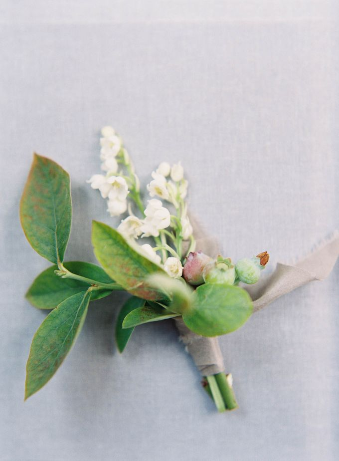 Blue & White Garden Wedding at Carneros Inn by Jen Huang Photo - 005