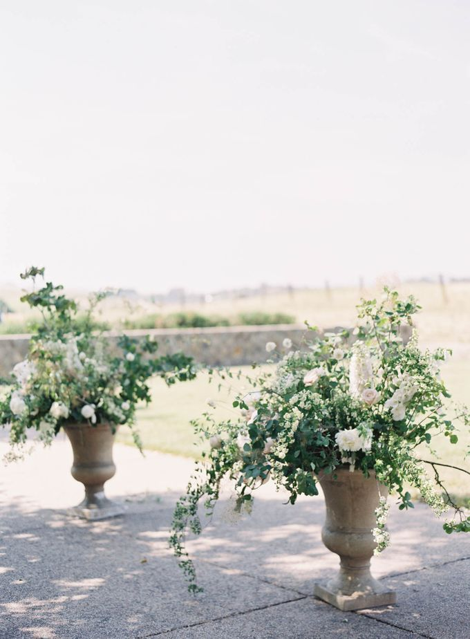 Blue & White Garden Wedding at Carneros Inn by Jen Huang Photo - 028