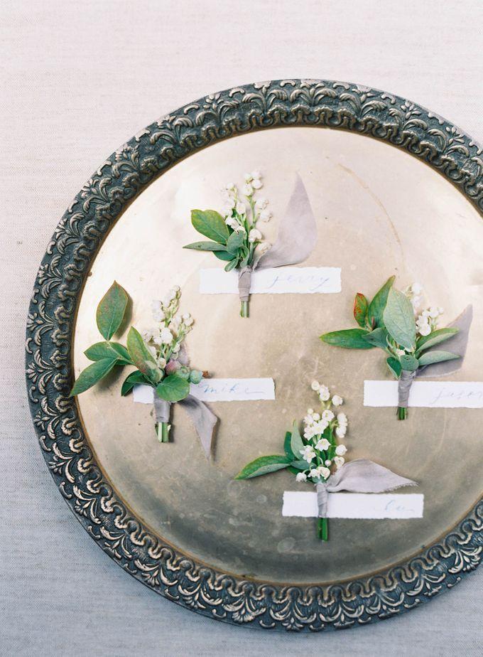 Blue & White Garden Wedding at Carneros Inn by Jen Huang Photo - 006