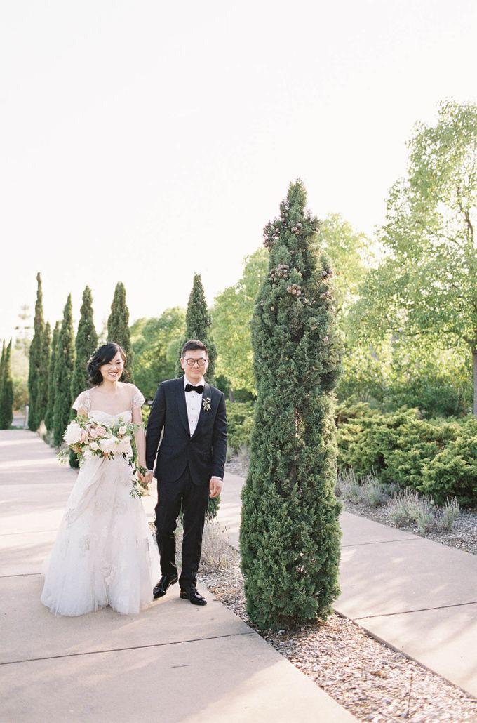 Blue & White Garden Wedding at Carneros Inn by Jen Huang Photo - 031