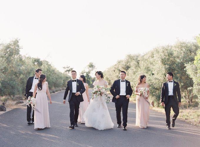 Blue & White Garden Wedding at Carneros Inn by Jen Huang Photo - 036