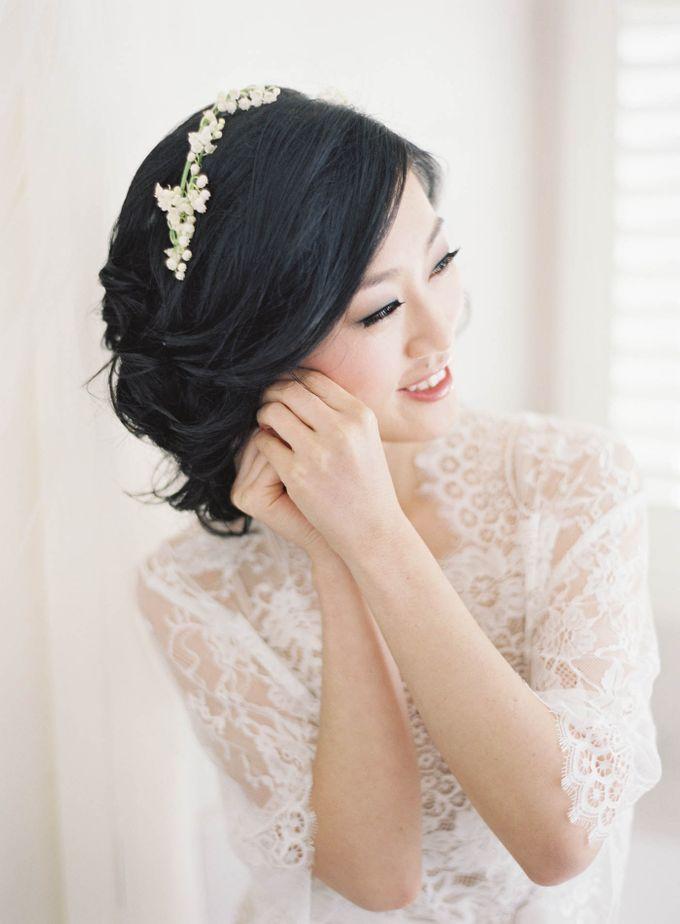 Blue & White Garden Wedding at Carneros Inn by Jen Huang Photo - 008