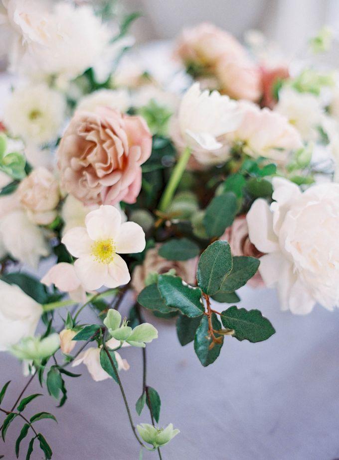 Blue & White Garden Wedding at Carneros Inn by Jen Huang Photo - 038