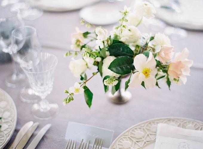 Blue & White Garden Wedding at Carneros Inn by Jen Huang Photo - 040