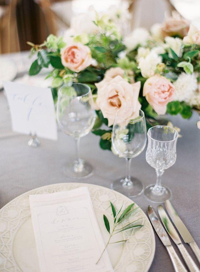 Blue & White Garden Wedding at Carneros Inn by Jen Huang Photo - 043