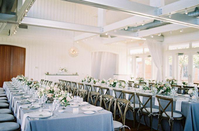Blue & White Garden Wedding at Carneros Inn by Jen Huang Photo - 046