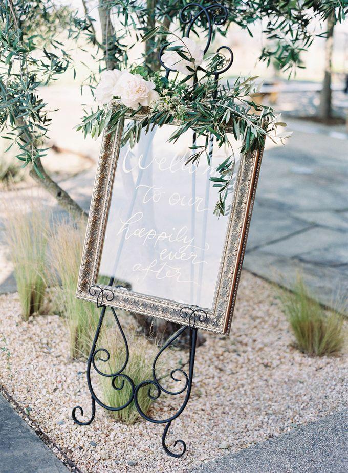 Blue & White Garden Wedding at Carneros Inn by Jen Huang Photo - 047