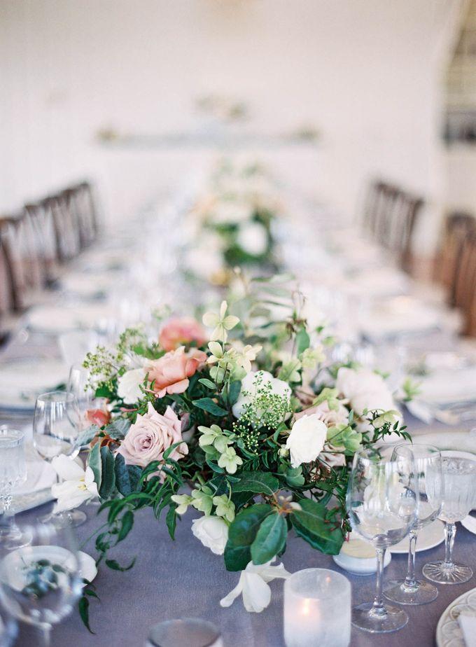 Blue & White Garden Wedding at Carneros Inn by Jen Huang Photo - 049