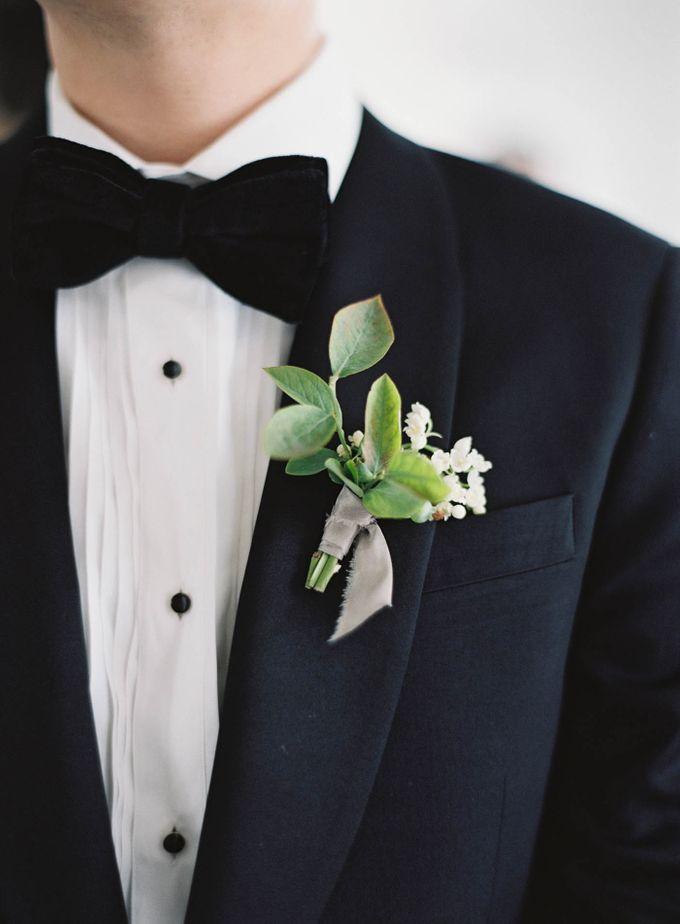 Blue & White Garden Wedding at Carneros Inn by Jen Huang Photo - 012