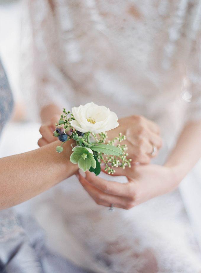 Blue & White Garden Wedding at Carneros Inn by Jen Huang Photo - 013