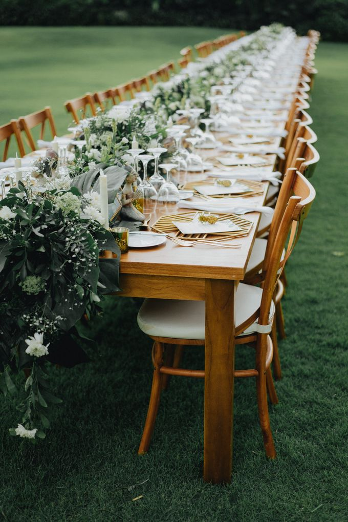 New Crossback Chairs By DIJON BALI CATERING Bridestorycom - Catering chairs