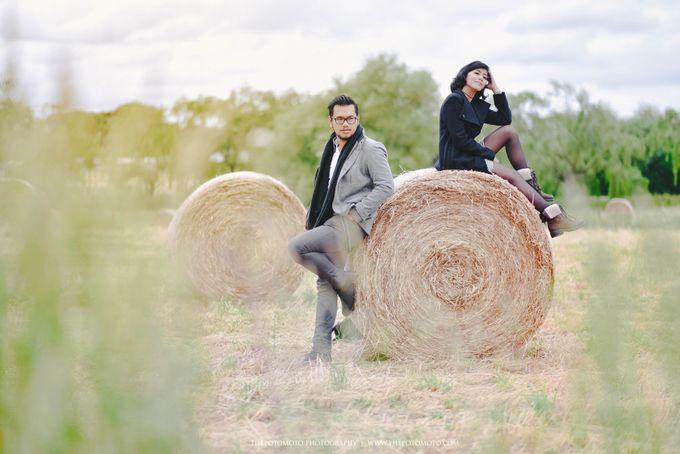 Neshia & Agra Melbourne Prewedding Day II by Thepotomoto Photography - 045