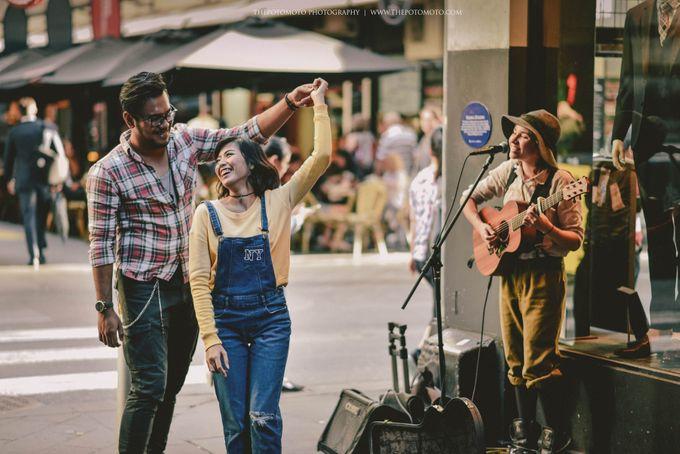 Neshia & Agra Melbourne Prewedding Day II by Thepotomoto Photography - 030
