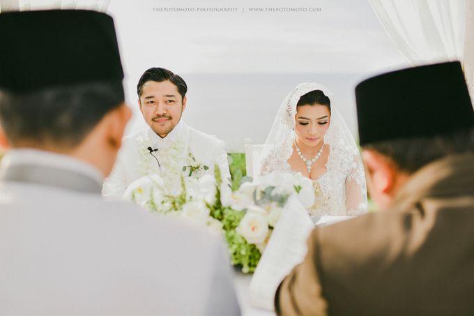 Ayu Hastari & Ryoichi Hutomo Wedding Day by Thepotomoto Photography - 021