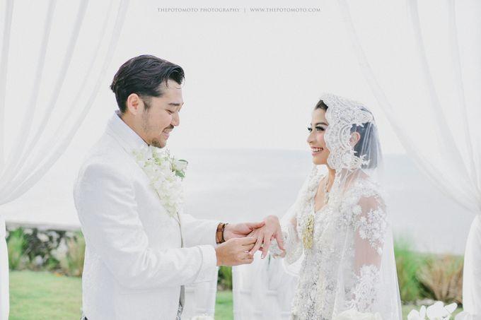 Ayu Hastari & Ryoichi Hutomo Wedding Day by Thepotomoto Photography - 016