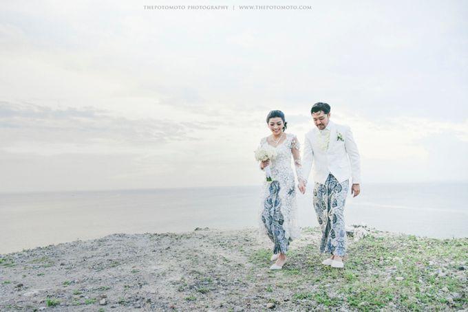 Ayu Hastari & Ryoichi Hutomo Wedding Day by Thepotomoto Photography - 030