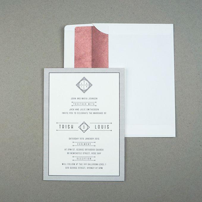 Trish & Louis by D&d Letterpress - 001