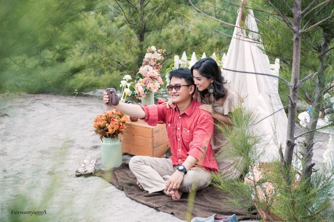 Hesti & Radit Prewedding by airwantyanto project - 013