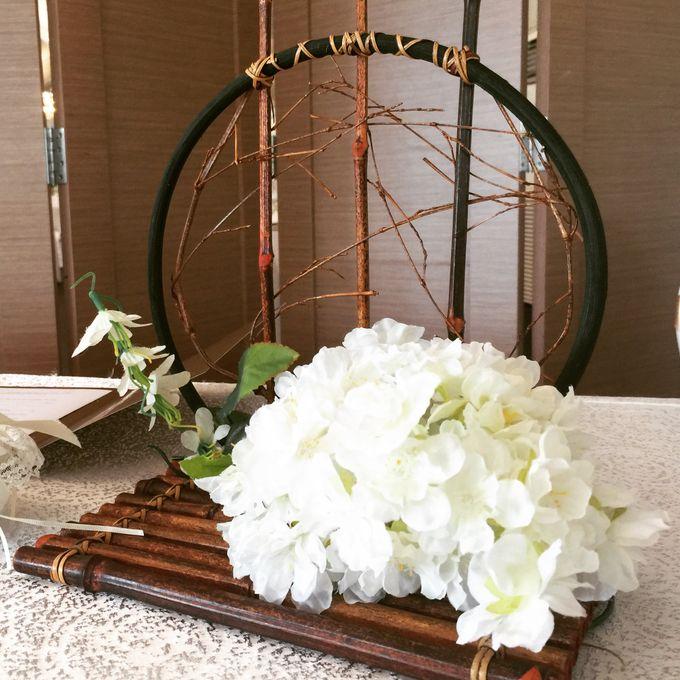 Oriental Zen Wedding Styling l ShawnxHeon by Cinderella Dream - 008