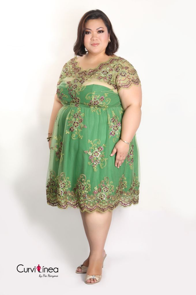 Our Exclusive Plus Size Kebaya and Formal Dress by Curvilínea by Pia Haryono - 011