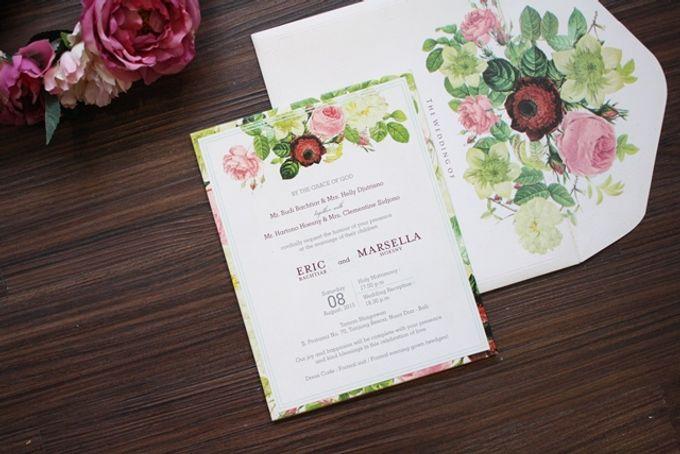 Flowers Theme Invitation By Artic Wedding Invitation Bridestory Com