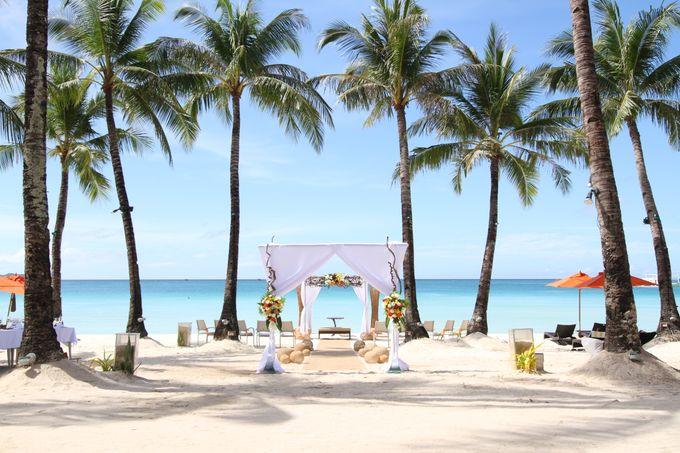 Beach Wedding at The District Boracay by The District Boracay - 003