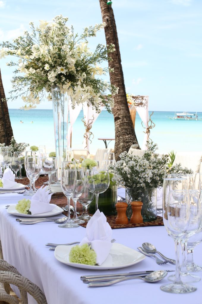 Beach Wedding at The District Boracay by The District Boracay - 005