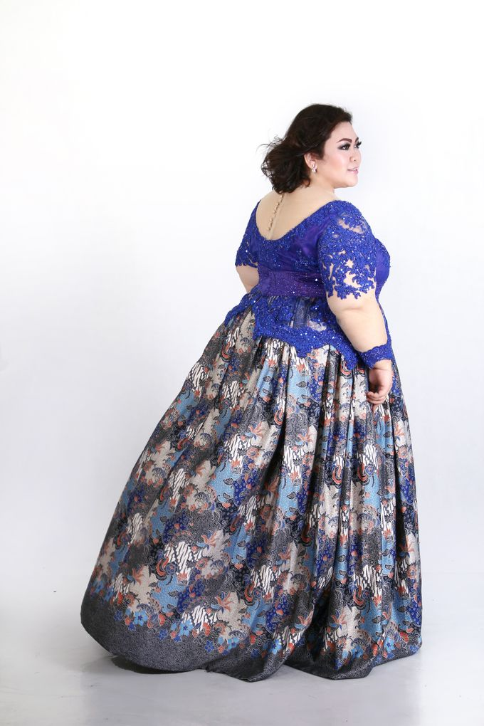 Our Exclusive Plus Size Kebaya and Formal Dress by Curvilínea by Pia Haryono - 004