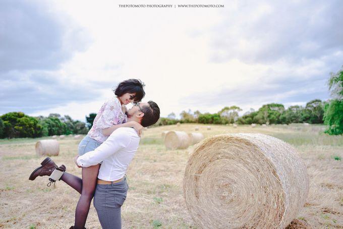 Neshia & Agra Melbourne Prewedding Day II by Thepotomoto Photography - 021
