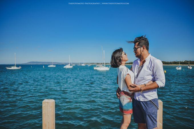 Neshia & Agra Melbourne Prewedding Day I by Thepotomoto Photography - 024