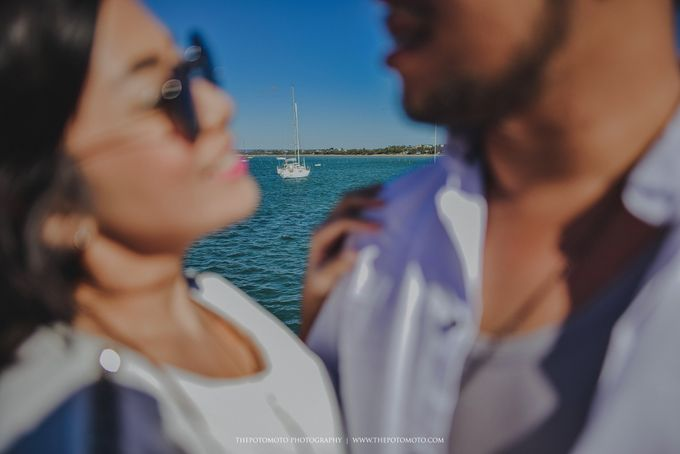 Neshia & Agra Melbourne Prewedding Day I by Thepotomoto Photography - 023