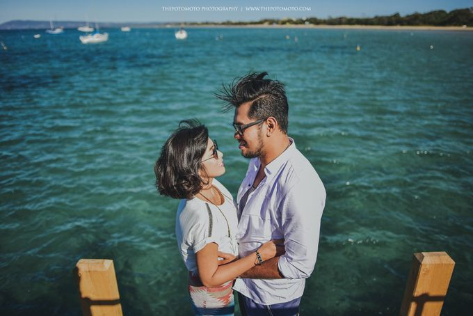 Neshia & Agra Melbourne Prewedding Day I by Thepotomoto Photography - 022