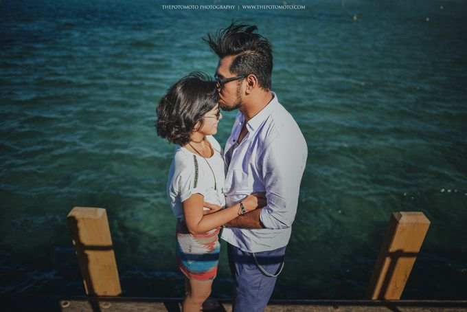 Neshia & Agra Melbourne Prewedding Day I by Thepotomoto Photography - 015