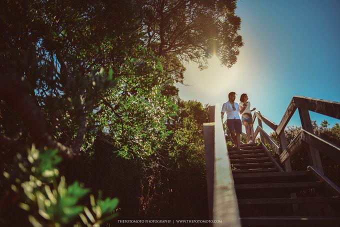 Neshia & Agra Melbourne Prewedding Day I by Thepotomoto Photography - 017