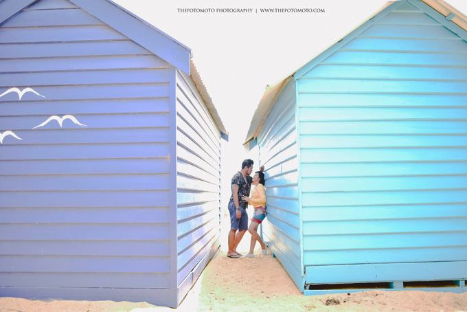 Neshia & Agra Melbourne Prewedding Day I by Thepotomoto Photography - 005
