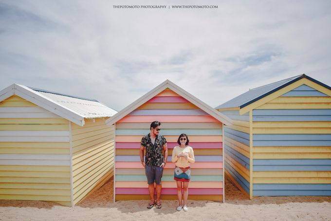 Neshia & Agra Melbourne Prewedding Day I by Thepotomoto Photography - 004