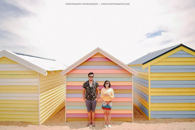 Neshia & Agra Melbourne Prewedding Day I by Thepotomoto Photography - 003
