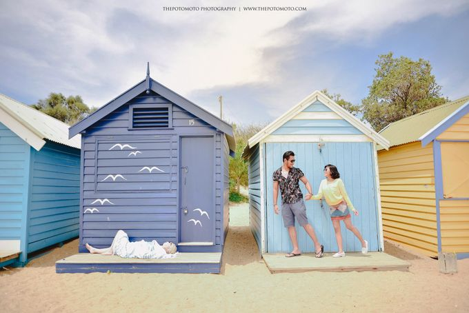 Neshia & Agra Melbourne Prewedding Day I by Thepotomoto Photography - 002