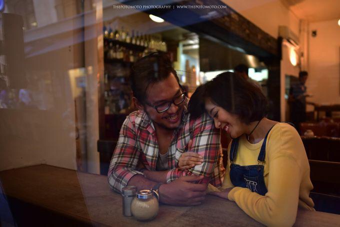 Neshia & Agra Melbourne Prewedding Day II by Thepotomoto Photography - 015