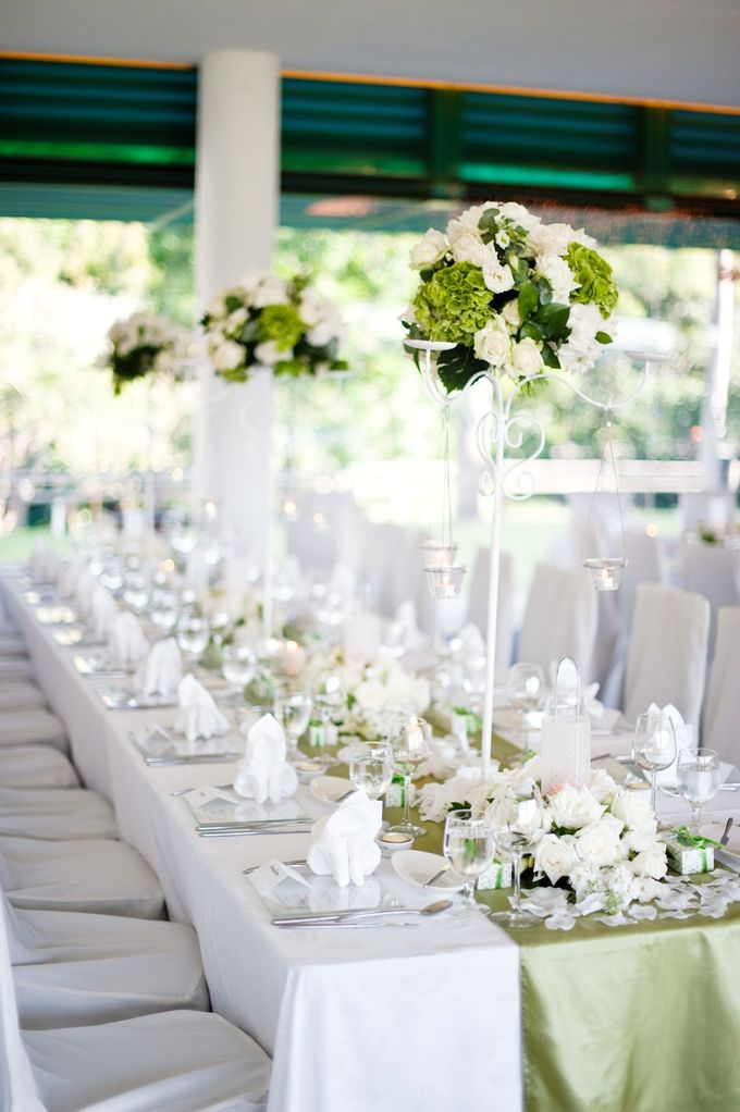 Decoration - Long tables set-up by Spellbound Weddings - 001