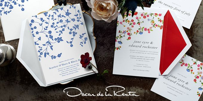 Add To Board Oscar De La Renta Wedding Invitation By Paperless Post   001