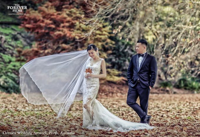 Oversea Wedding Artwork - Perth Australia by The Forever Films - 001