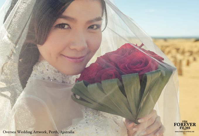 Oversea Wedding Artwork - Perth Australia by The Forever Films - 004