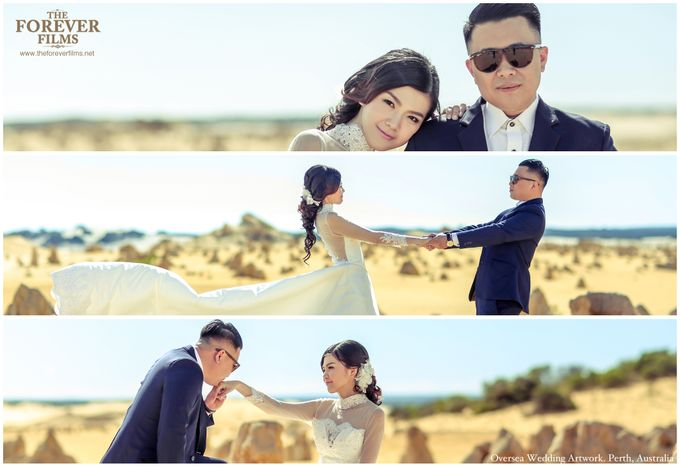 Oversea Wedding Artwork - Perth Australia by The Forever Films - 008
