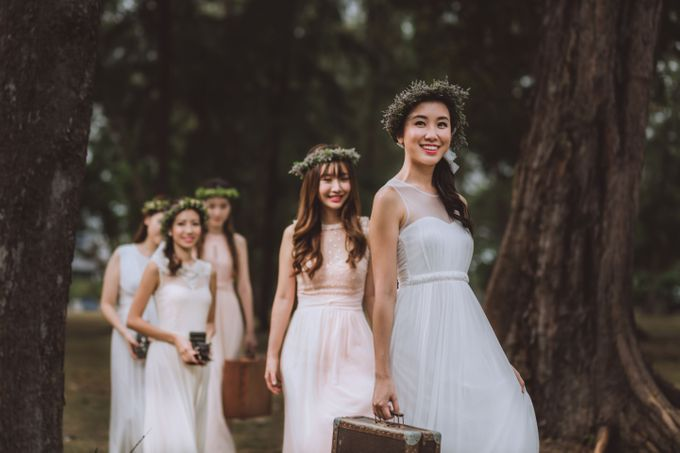 Bridesmaids Styled shoot by Le voeu (Bridesmaids) - 004