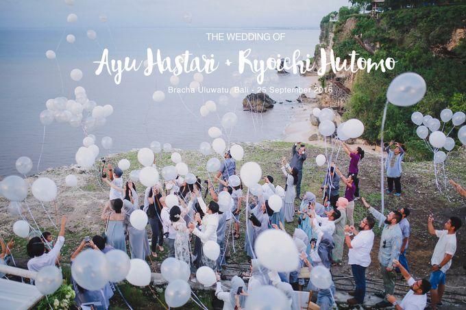 Ayu Hastari & Ryoichi Hutomo Wedding Day by Thepotomoto Photography - 001